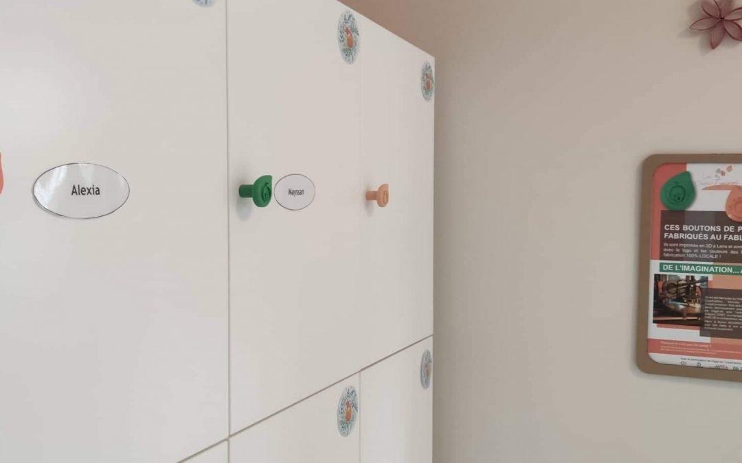 Des boutons de porte sur-mesure